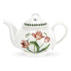 Portmeirion Botanic Garden - Teapot Parrot Tulip
