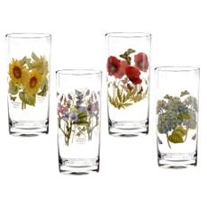 Portmeirion Botanic Garden - Hi-ball Glasses Set Of 4