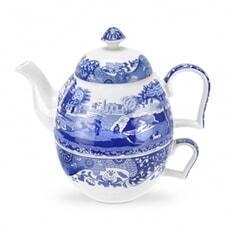 Spode Blue Italian - Tea For One