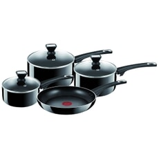 Tefal Jamie Oliver Hard Enamel Essential 4 Piece Set