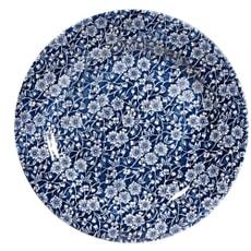 Churchill China Victorian Calico Blue Salad Plate