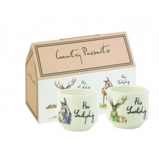 Country Pursuits - Stacking Egg Cups Set Of 2`