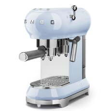 Smeg Espresso Coffee Machine Pastel Blue