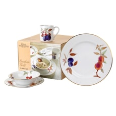 Royal Worcester Evesham Gold 16 Piece Box Set