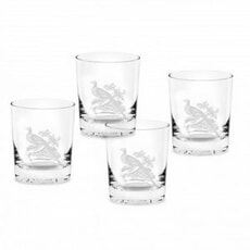 Spode Glen Lodge Tumblers Pheasant Set Of 4