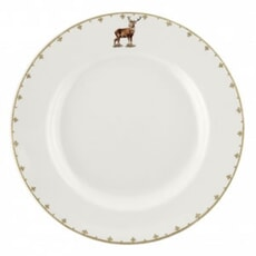 Spode Glen Lodge Dinner Plate Stag 10.5 inch