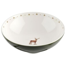 Spode Glen Lodge Salad Bowl Stag 9.5 inch