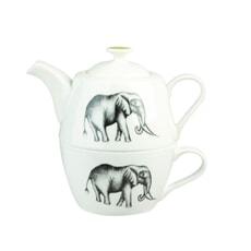 Churchill China Harlequin Maple Savanna Tea For One