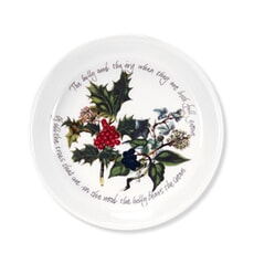 Portmeirion Holly and Ivy - Sweet dish x 2 Gift Boxed