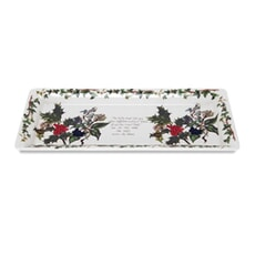 Portmeirion Holly and Ivy - Sandwich Tray