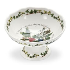Portmeirion Holly and Ivy - Scalloped Dish (14cm)