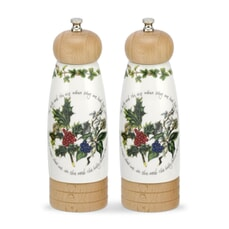 Portmeirion Holly and Ivy - Salt And Pepper Mill