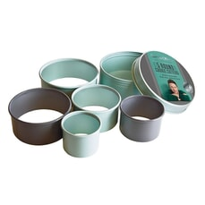 Jamie Oliver Round Cookie Cutters Set Of 5