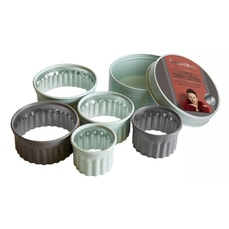 Jamie Oliver Fluted Cookie Cutters Set Of 5