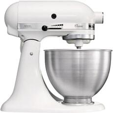 KitchenAid Classic Mixer 4.3L White 5K45SS