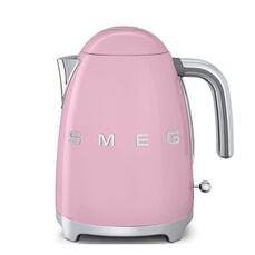 Smeg Kettle Pink 3D Logo