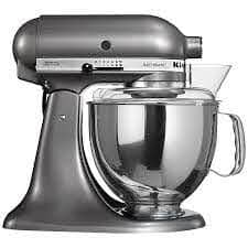 Kitchen Aid Artisan Mixer Medallion Silver Ksm150bms