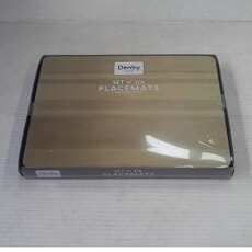 Openbox Denby Colours Natural Placemats Set Of 6