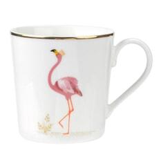 Sara Miller Piccadilly Mug - Flamingo