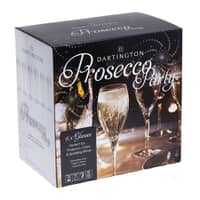 Dartington Party Pack Set Of 6 Prosecco Glasses