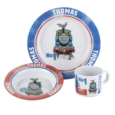 Thomas and Friends 3 Piece Melamine Set
