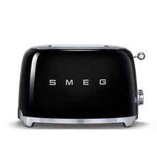 Smeg 2 Slice Toaster Black