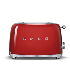 Smeg 2 Slice Toaster Red