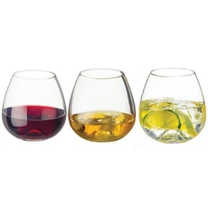 Dartington Whiskey Water Wine Tumber 3 Pack