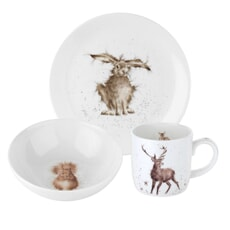 Wrendale Adult 3 Piece Breakfast Set