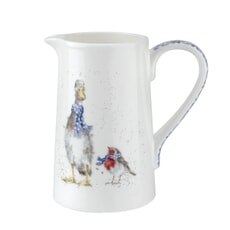 Wrendale 1 Pint Jug - Duck And Robin