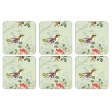 Portmeirion Pimpernel - Indian Rose Coasters Set Of 6
