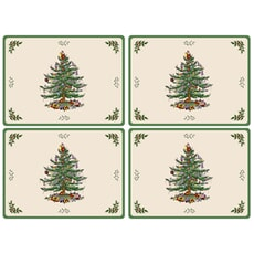 Spode Christmas Tree - Serving Mats Set Of 4
