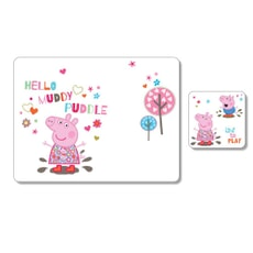 Peppa Pig Placemat and Coaster Pack