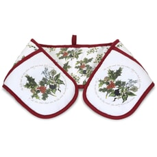 Portmeirion Holly and Ivy - Double Oven Glove