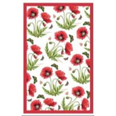 Portmeirion Botanic Garden - Tea Towel Poppy