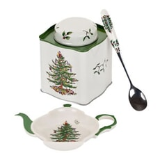 Spode Christmas Tree 3 Piece Tea Set