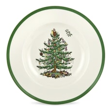 Spode Christmas Tree Soup Plate