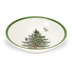 Spode Christmas Tree Soup/Cereal Bowl 15cm