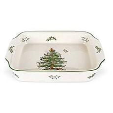 Spode Christmas Tree - Rectangular Dish