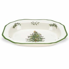 Spode Christmas Tree - Open Vegetable Dish