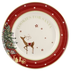 Spode Christmas Jubilee Cookie Plate 10.5