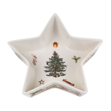 Spode Christmas Jubilee Small Star Tray