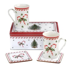 Spode Christmas Tree - Peppermint 5 Piece Set