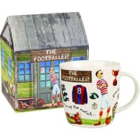 At Your Leisure - The Footballer Mug
