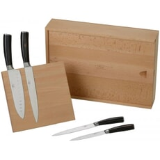Sophie Conran - Rivelin 4 Piece Knife Block Set