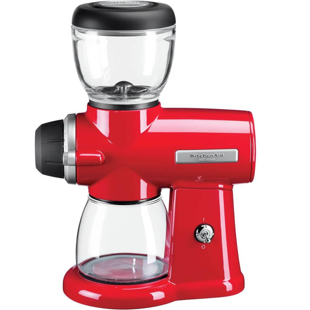 Kitchenaid Coffee Grinder ~ Kitchenaid artisan coffee burr grinder empire red