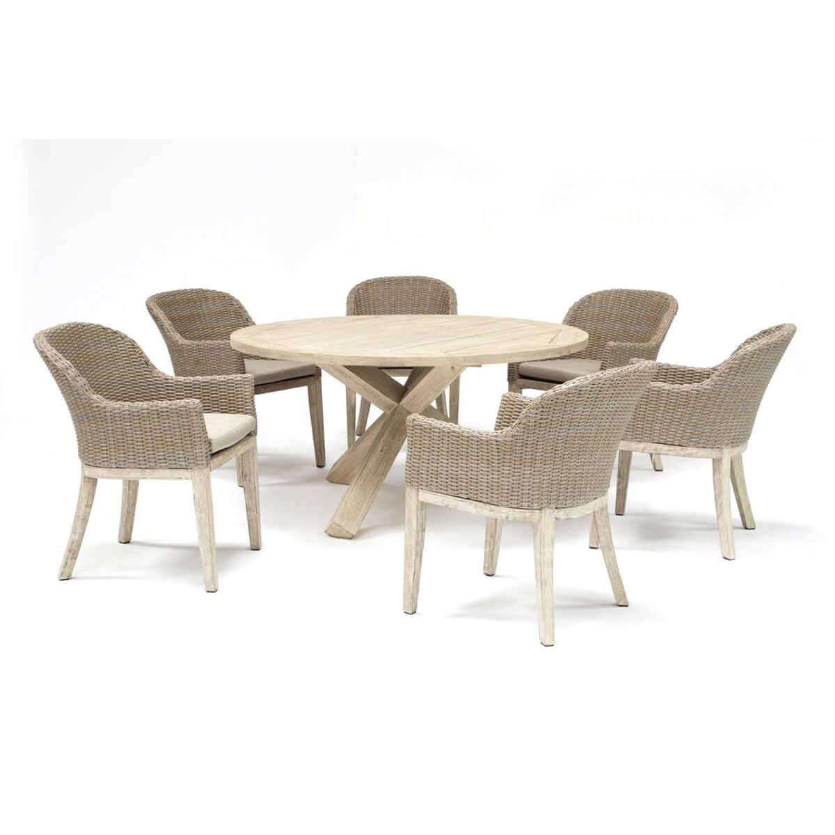 Kettler Cora 6 Seat Round Coraset02 Garden Furniture