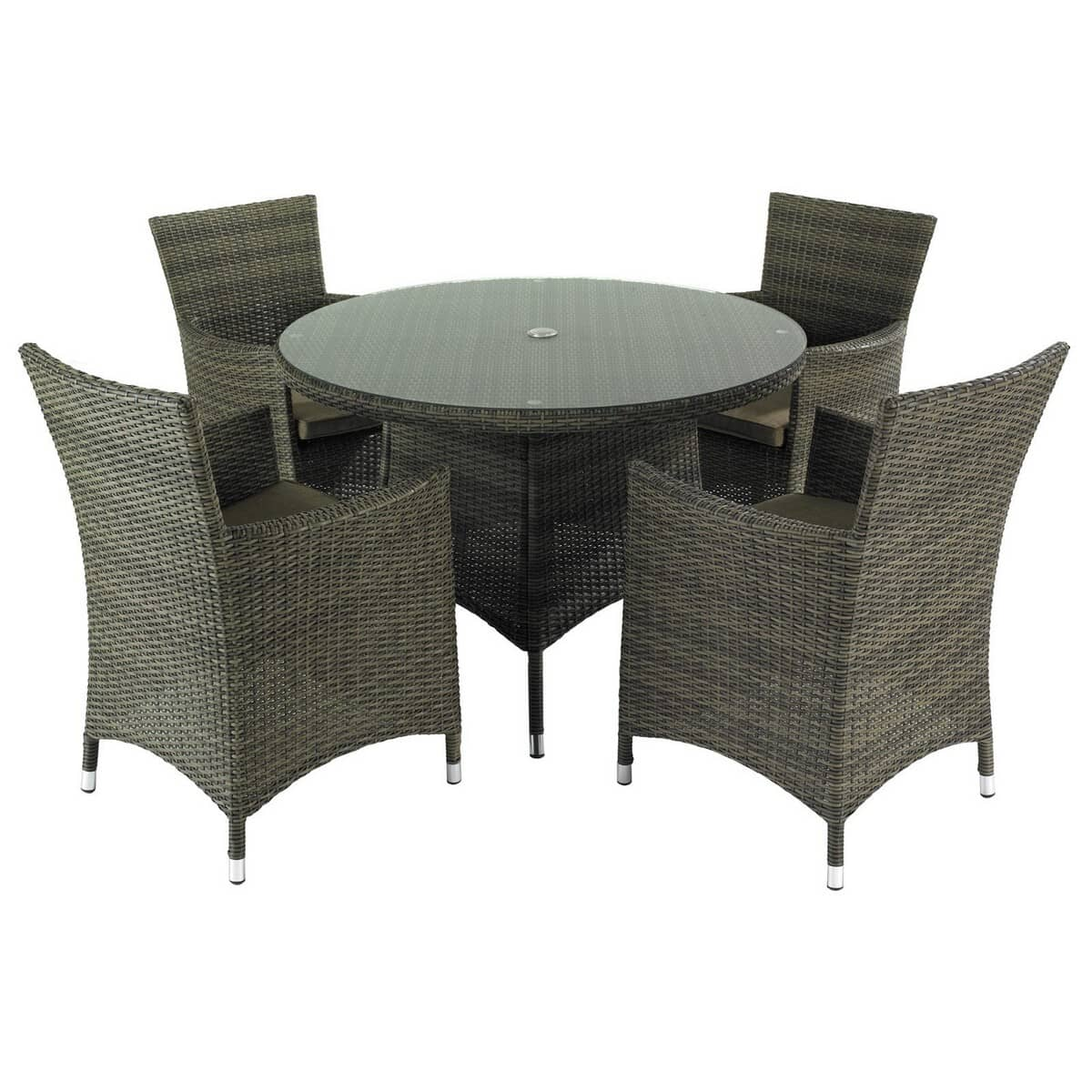 Hartman Bentley 4 Seat Dining Set Hbenset02 Garden