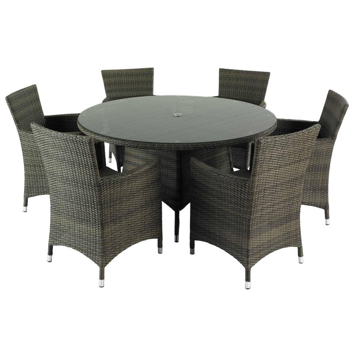 Hartman Bentley 6 Seat Dining Set Hbenset03 Garden