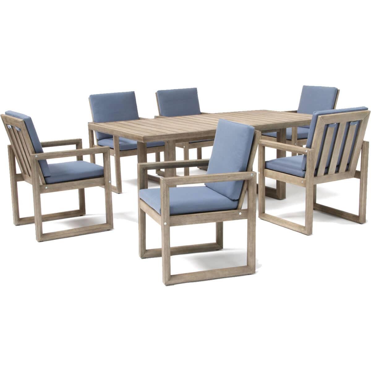Kettler Ezra 6 Seat Dining Set Kezrset01 Garden